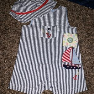 crown & ivy One Pieces - Baby Boy Clothes